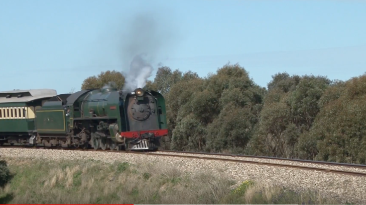 Steam On The South Australian Railways! | Train Fanatics Videos