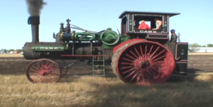 Steam Tractor With 2 Horse Power