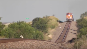 BNSF Slow Motion Roller Coaster !