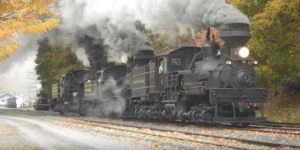 Cass Scenic Railroad In Fall !