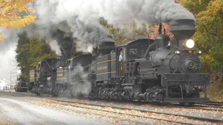 Cass Scenic Railroad In Fall ! | Train Fanatics Videos