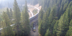 Aerial View Of The Williams Loop!