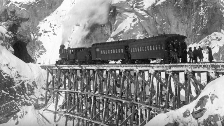 Bucket List – White Pass & Yukon Railway ! | Train Fanatics Videos