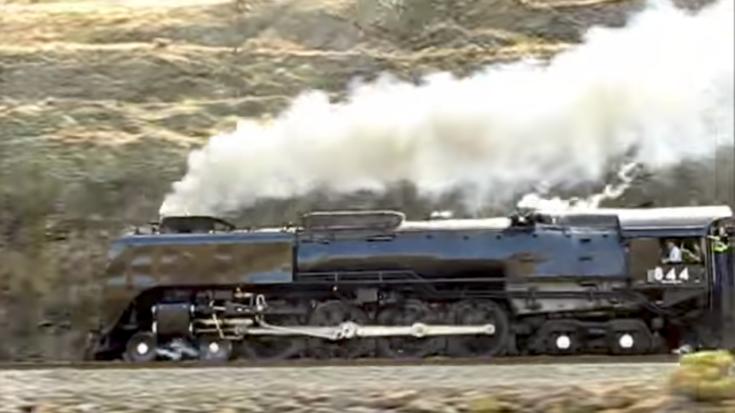 UP 844 Can Still Bring It!   Train Fanatics Videos