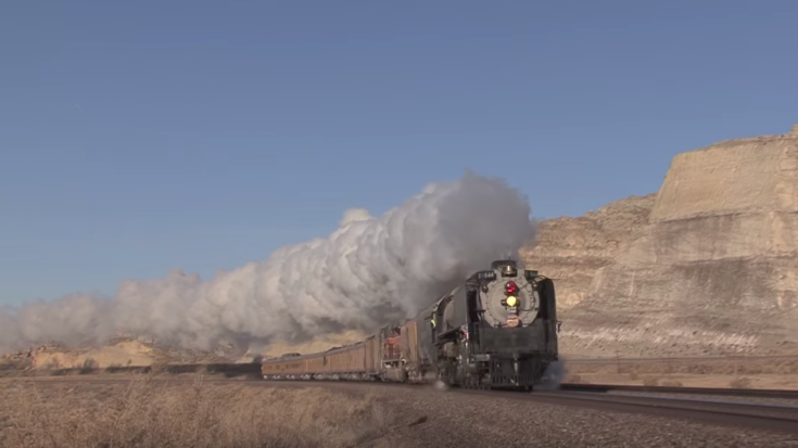 UP 844 On Her Way Home To Cheyenne! | Train Fanatics Videos