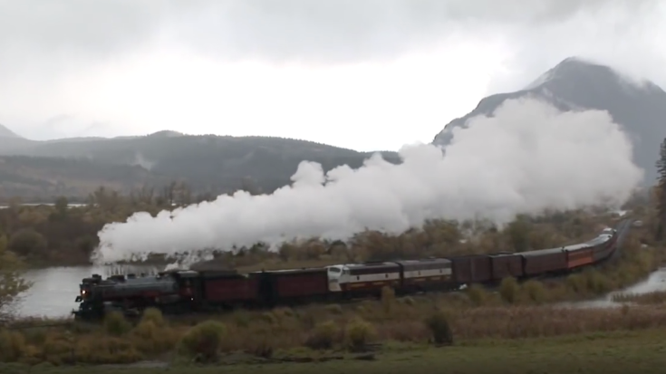 Canadian Pacific #2816 Empress In Fall | Train Fanatics Videos