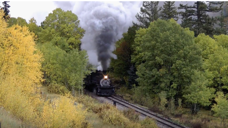 Cumbres & Toltec  #489 Fall Spectacular ! | Train Fanatics Videos