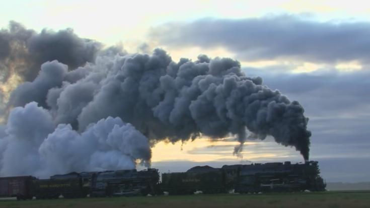 Smoke Galore From Berkshire Double Header! | Train Fanatics Videos