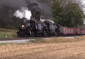 Strasburg Railroad Triple Play!