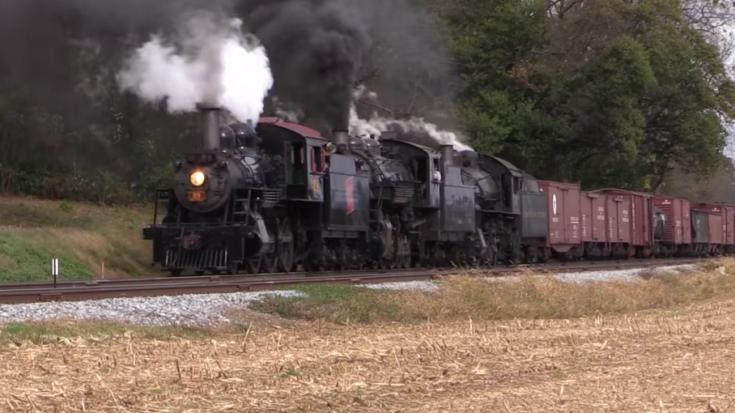 Strasburg Railroad Triple Play! | Train Fanatics Videos