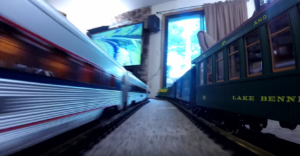 G Scale Train In The House ?!