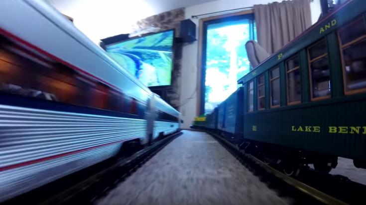 G Scale Train In The House ?! | Train Fanatics Videos