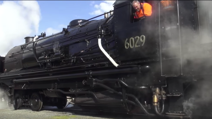 City Of Canberra #6029 To Roll Again! | Train Fanatics Videos