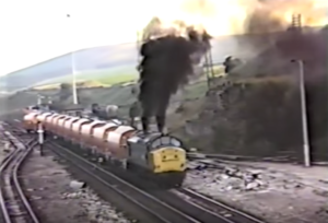 Deltic Class 37 Burns A Little Rich!