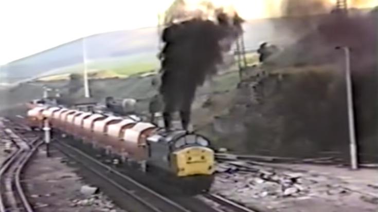 Deltic Class 37 Burns A Little Rich! | Train Fanatics Videos