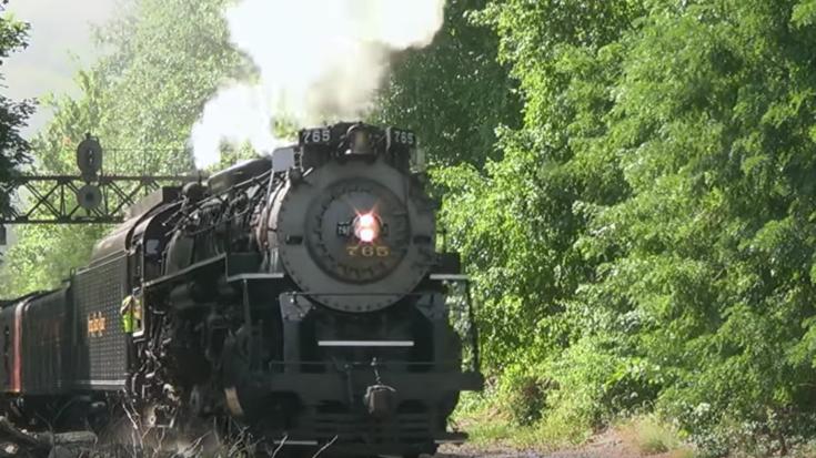 NKP #765 Stack Talk Is Impressive! | Train Fanatics Videos