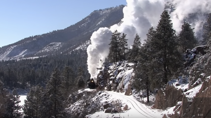 Durango & Silverton #481 Pushing Hard! | Train Fanatics Videos