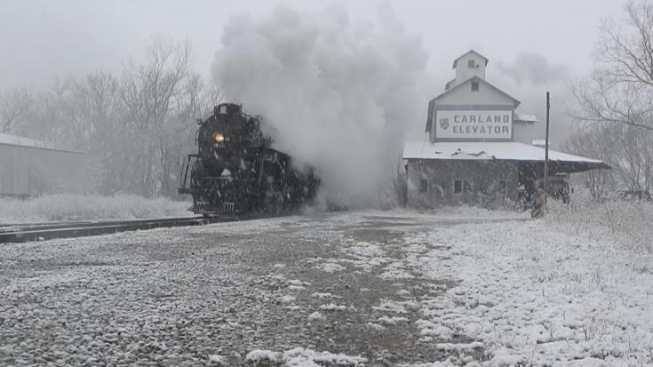 All Aboard The Pere Marquette #1225 ! | Train Fanatics Videos