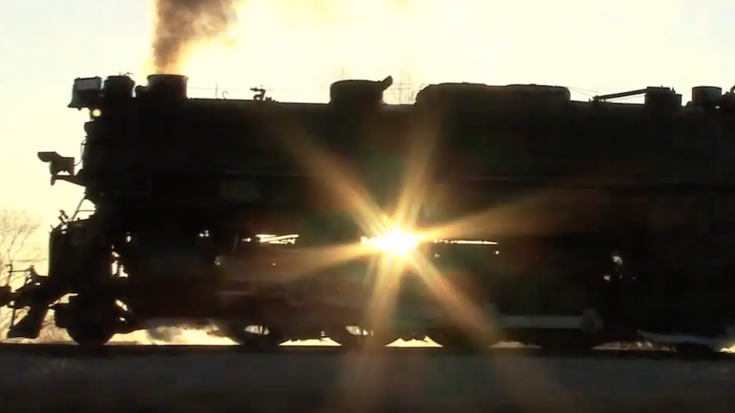 Pere Marquette #1225 With A Full Head Of Steam! | Train Fanatics Videos
