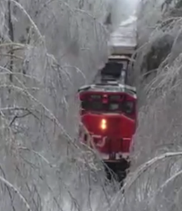 Is Train Lost In Snow ?