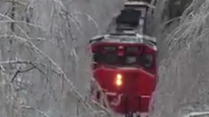 Is Train Lost In Snow ? | Train Fanatics Videos