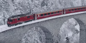 Winter Wonderland – The Glacier Express!
