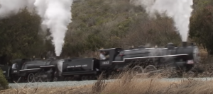 Double Header 12 Ton Pacific 4-6-2  Live Steamers!