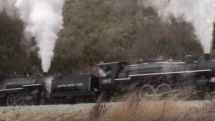 Double Header 12 Ton Pacific 4-6-2  Live Steamers! | Train Fanatics Videos