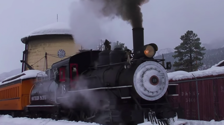 SP #18 On A Cold Snowy Day | Train Fanatics Videos