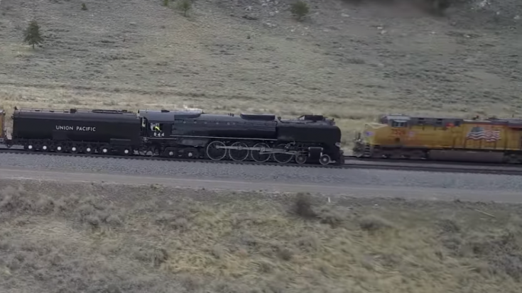 Pacing UP 844 From High Above | Train Fanatics Videos