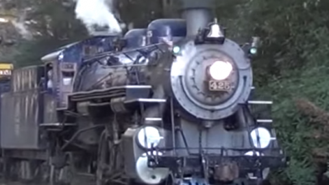 Reading & Northern #425 Fall Excursion | Train Fanatics Videos