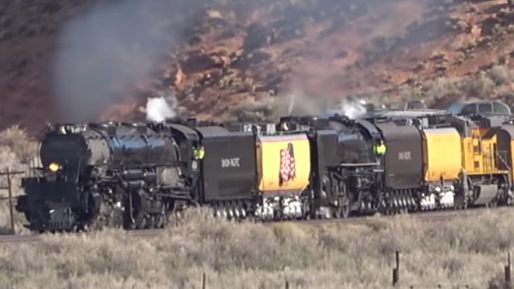 Union Pacific Double Header Heaven ! | Train Fanatics Videos