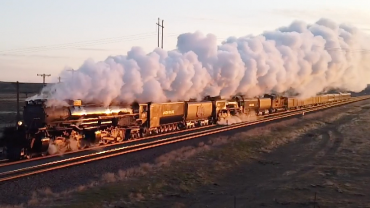 Union Pacific Big Boy #4014 And UP #844 | Train Fanatics Videos