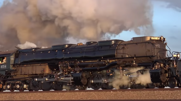 At Last, UP BIG BOY 4014 ! | Train Fanatics Videos