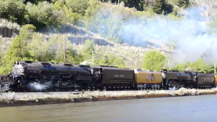 """Big Boy Up The Wasatch Grade"" 