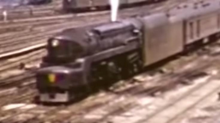 Pennsylvania Railroads' T1 Class Locomotive | Train Fanatics Videos