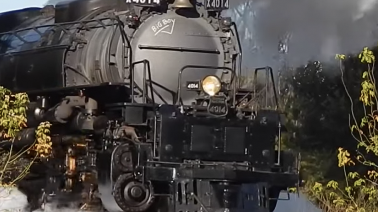 Big Boy #4014 In South Texas | Train Fanatics Videos