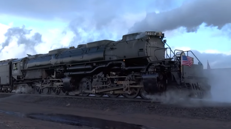 Big Boy #4014 And UP #844 Building Up A Head Of Steam | Train Fanatics Videos