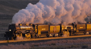 Big Boy #4014 & UP 844 Steam Symphony