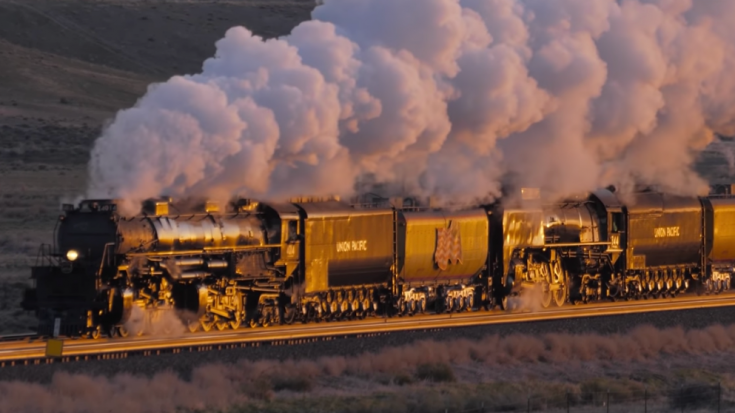 Big Boy #4014 & UP 844 Steam Symphony | Train Fanatics Videos