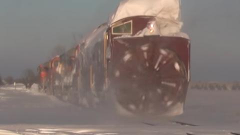 War Wagon Hard At Work | Train Fanatics Videos