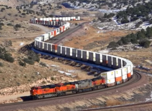 BNSF In Northern Arizona