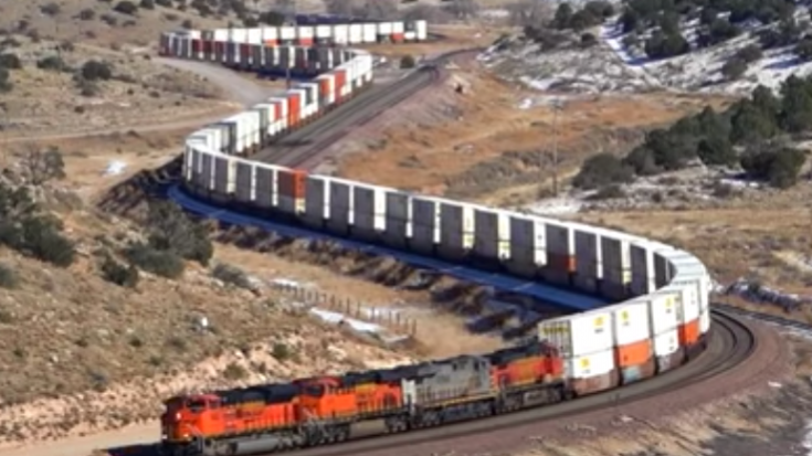 BNSF In Northern Arizona | Train Fanatics Videos