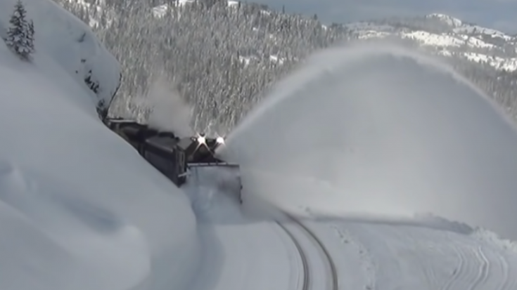 War Wagon On The Donner Pass | Train Fanatics Videos