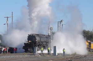 Big Boy #4014 Building Up Steam