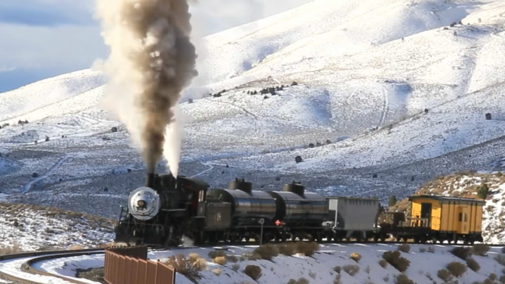 Virginia City to Carson City | Train Fanatics Videos