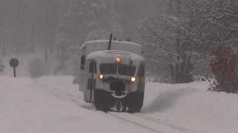 The Galloping Goose Brings Up The Rear | Train Fanatics Videos
