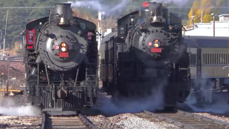 120 Year Old Grand Canyon Railway | Train Fanatics Videos