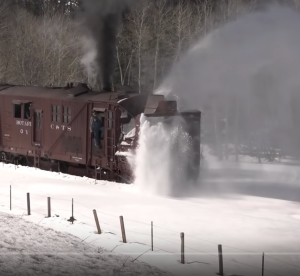 Cumbres & Toltec Scenic Railroad Rotary Plow Action