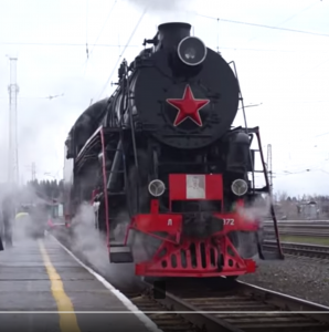 Russian Class L Locomotive From The Cab